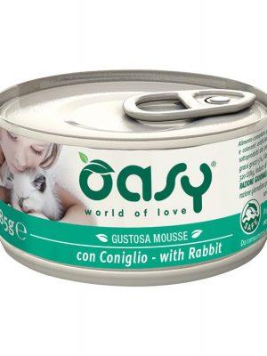 Oasy Mousse Κουνέλι / Rabbit 85gr