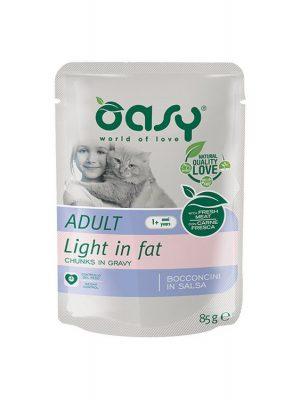 Oasy Light in Fat με Κοτόπουλο, Χοιρινό, Ψάρι 85gr